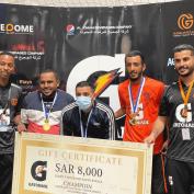 Gatorade Football Tournament Champions